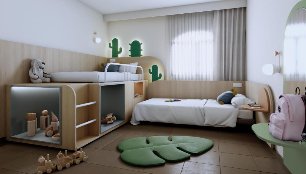 hoteles para niños en gran canaria - piscina toboganes