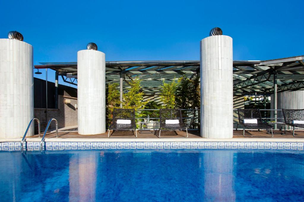 The swimming pool at or near Claris Hotel & Spa GL