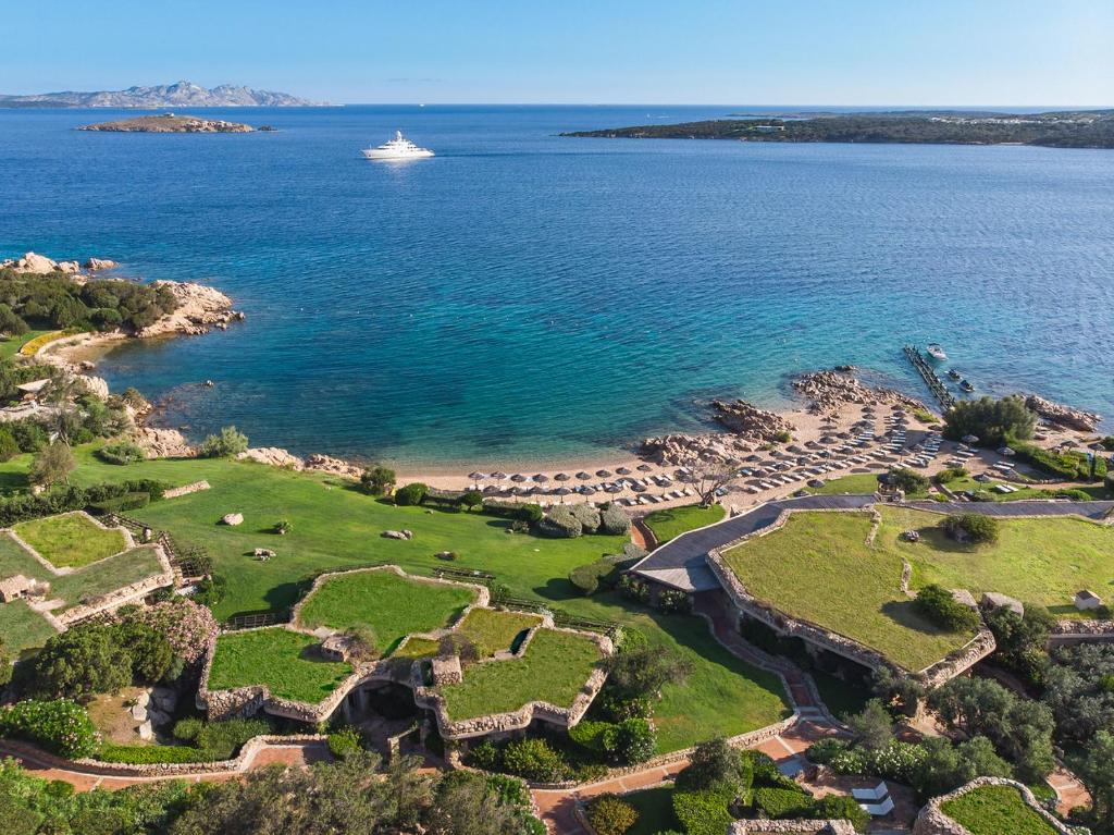 A bird's-eye view of Pitrizza, a Luxury Collection Hotel