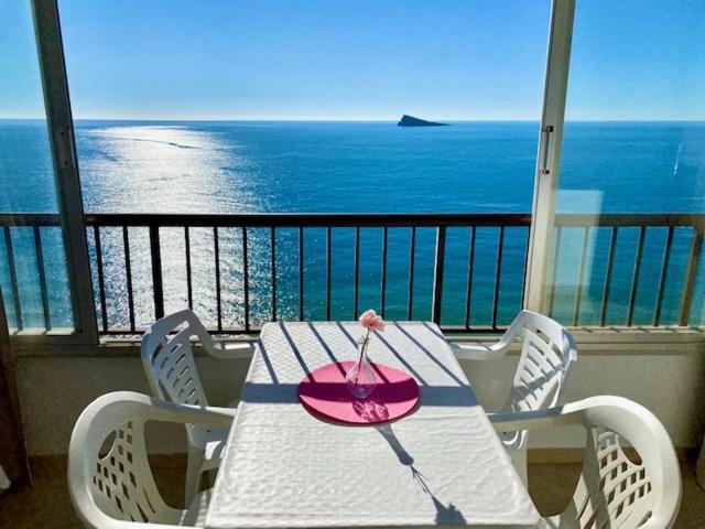 A balcony or terrace at Miramar Playa - Aloturin Benidorm