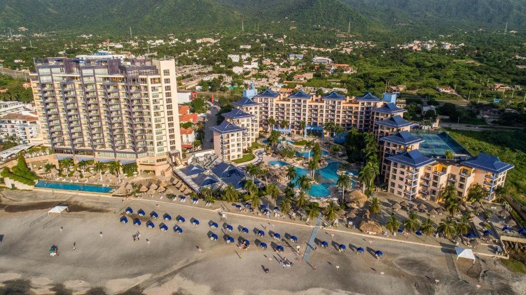Zuana Beach Resort a vista de pájaro