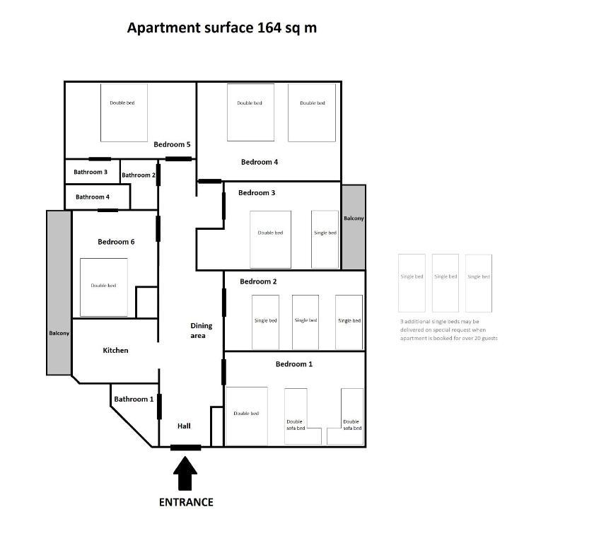 Collosal 6 Bedroom Apartment Slowackiego Avenue Krakow Updated 2021 Prices