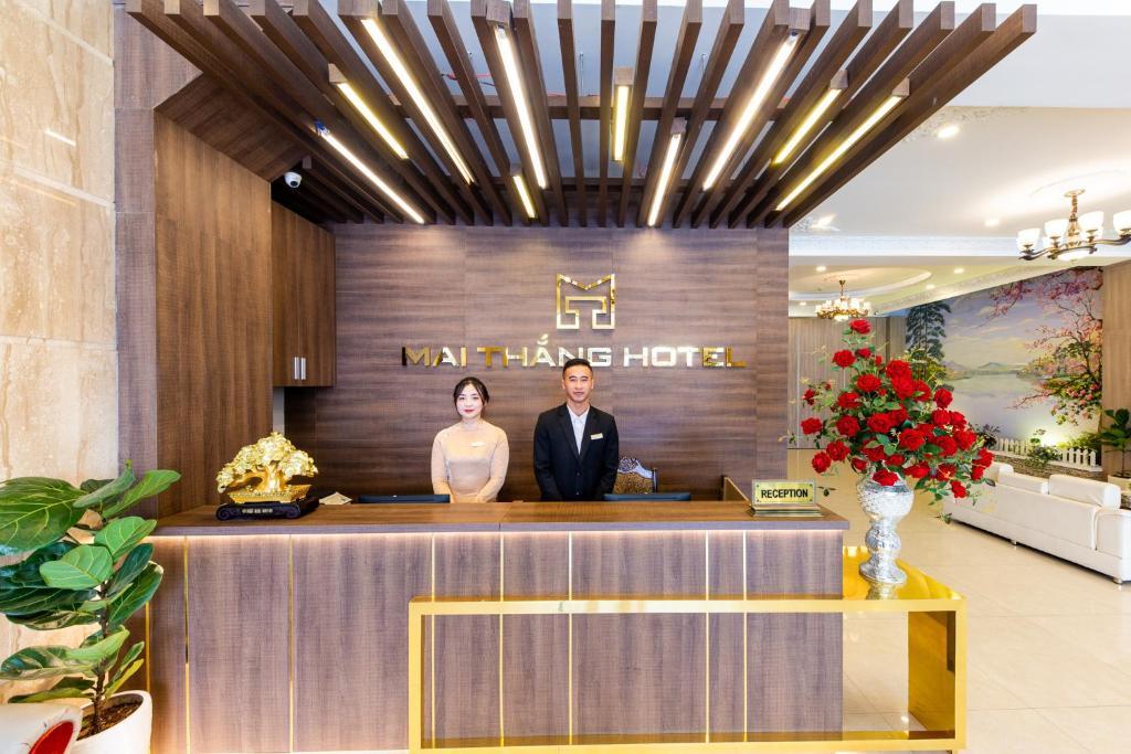 Staff members at Mai Thang Hotel Da Lat