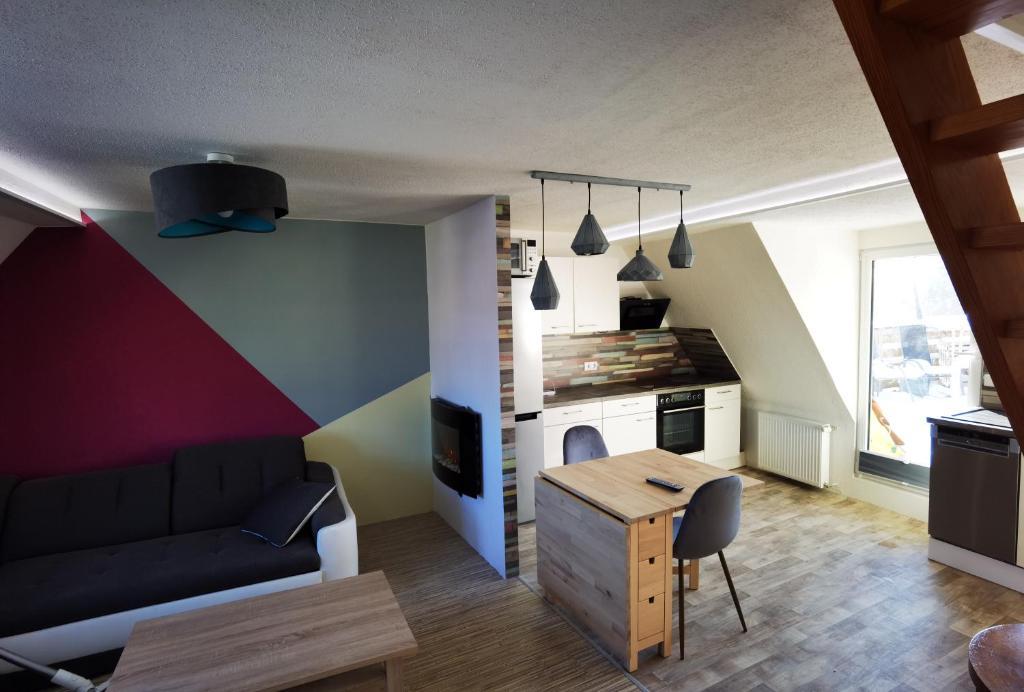 Gemütliche Dachwohnung mit Dampfsauna und Dachterrasse