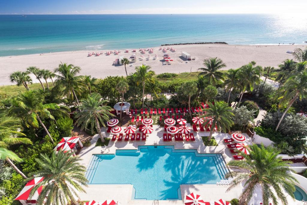 A view of the pool at Faena Hotel Miami Beach or nearby