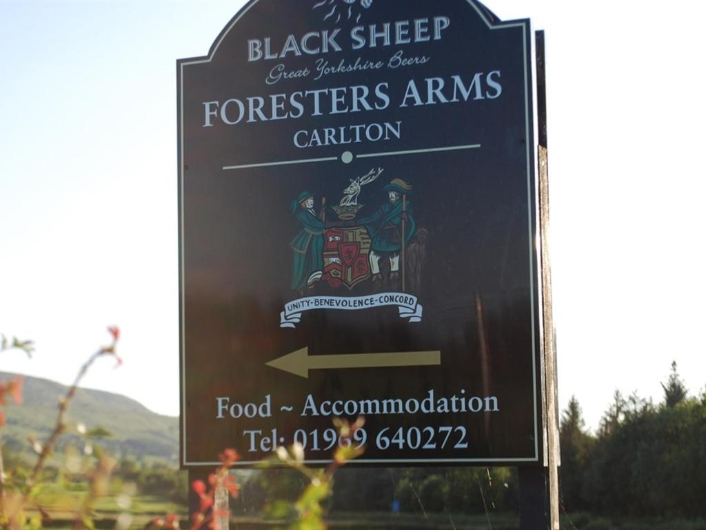 The Foresters Arms in Carlton, North Yorkshire, England