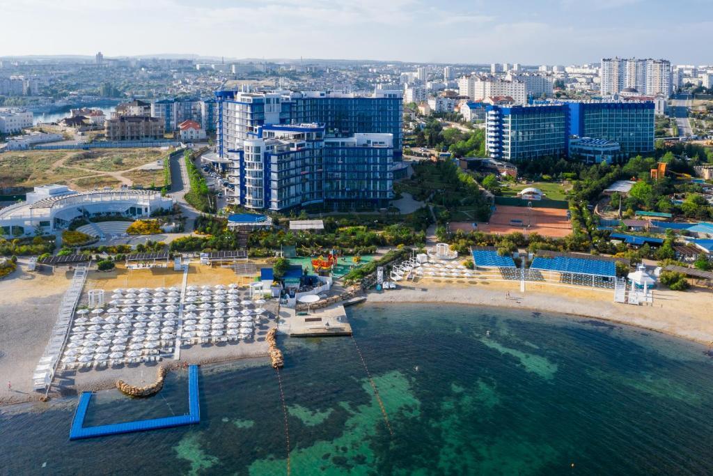 Aquamarine Resort & SPA с высоты птичьего полета