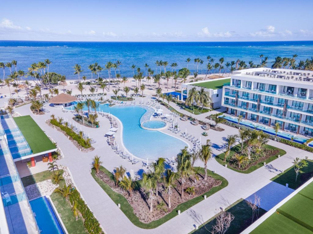 A bird's-eye view of Serenade Punta Cana Beach & Spa Resort