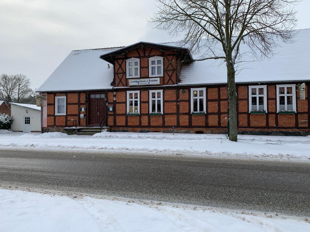 Landgasthaus & Pension Liebner im Winter