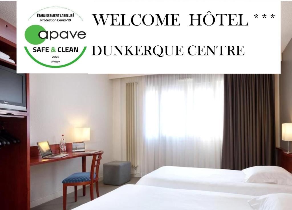 Hotel Welcome - Dunkerque Centre
