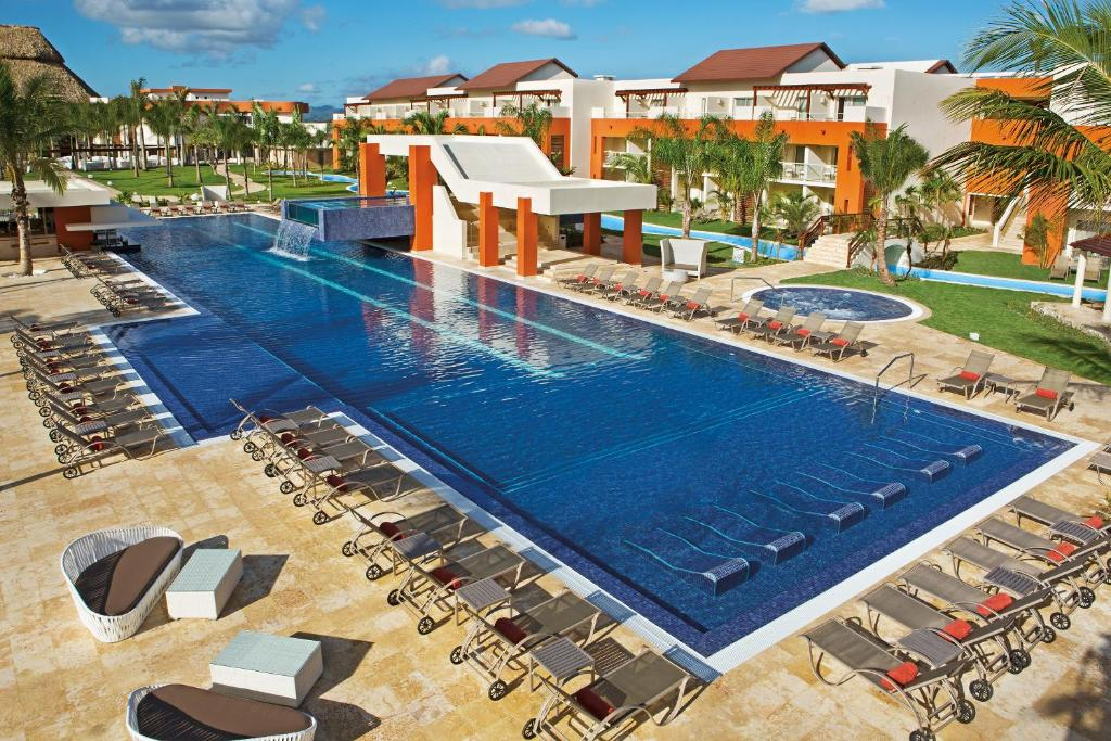 A view of the pool at Breathless Punta Cana Resort & Spa - Adults Only or nearby