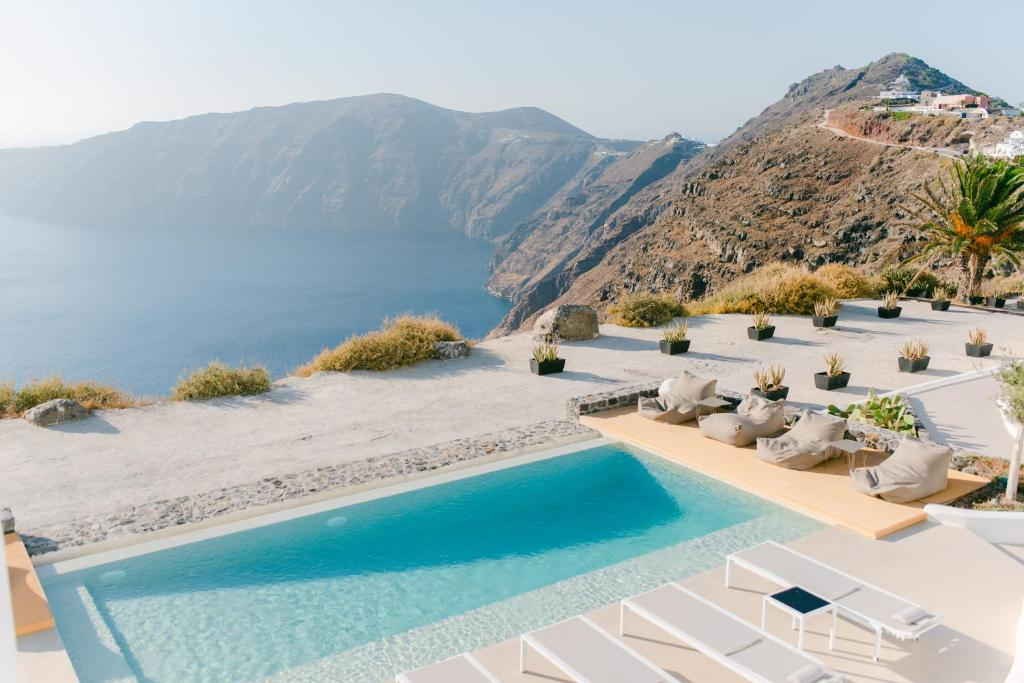 A view of the pool at Rocabella Santorini Hotel & Spa or nearby