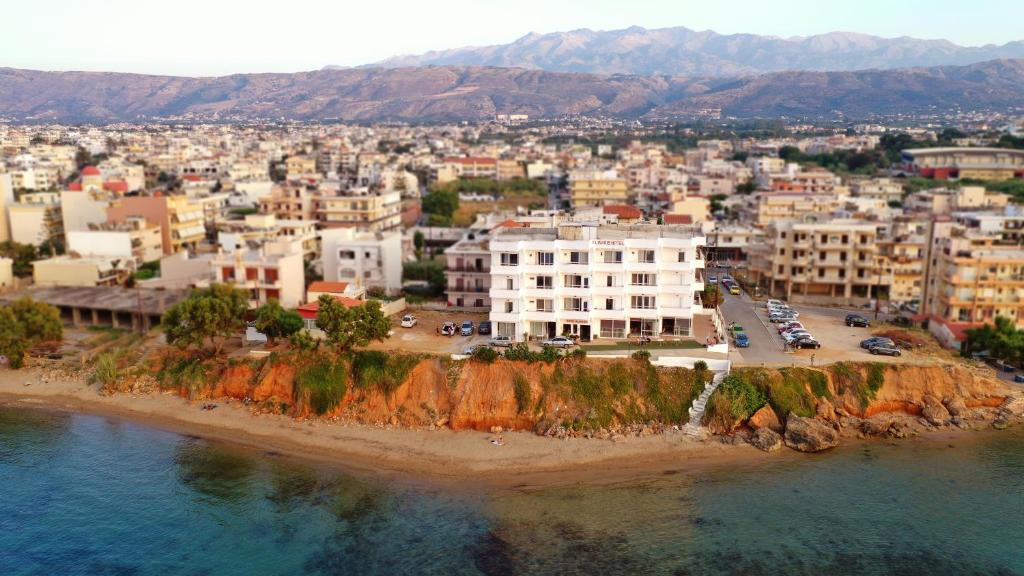 A bird's-eye view of Klinakis Beach Hotel