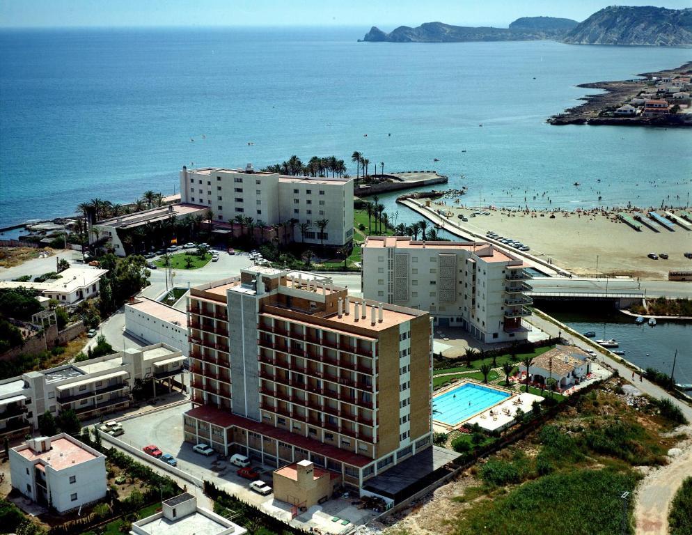 A bird's-eye view of Hotel Villa Naranjos