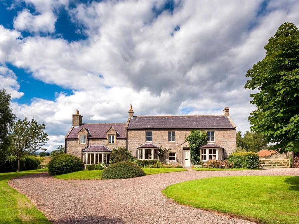 Westfield House Farm in Rothbury, Northumberland, England
