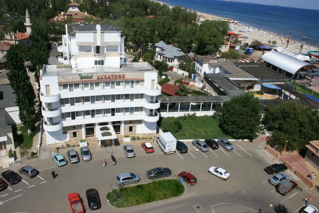 Vedere de sus a Hotel Albatros