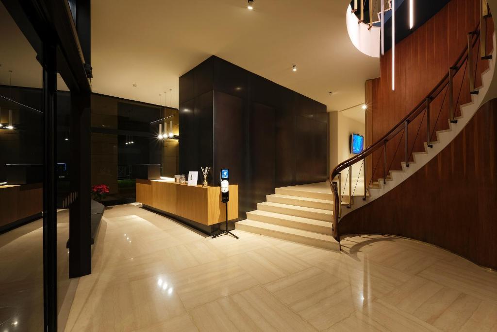 Hall o reception di Hotel Touring