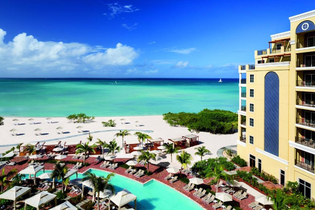 A view of the pool at The Ritz-Carlton, Aruba or nearby