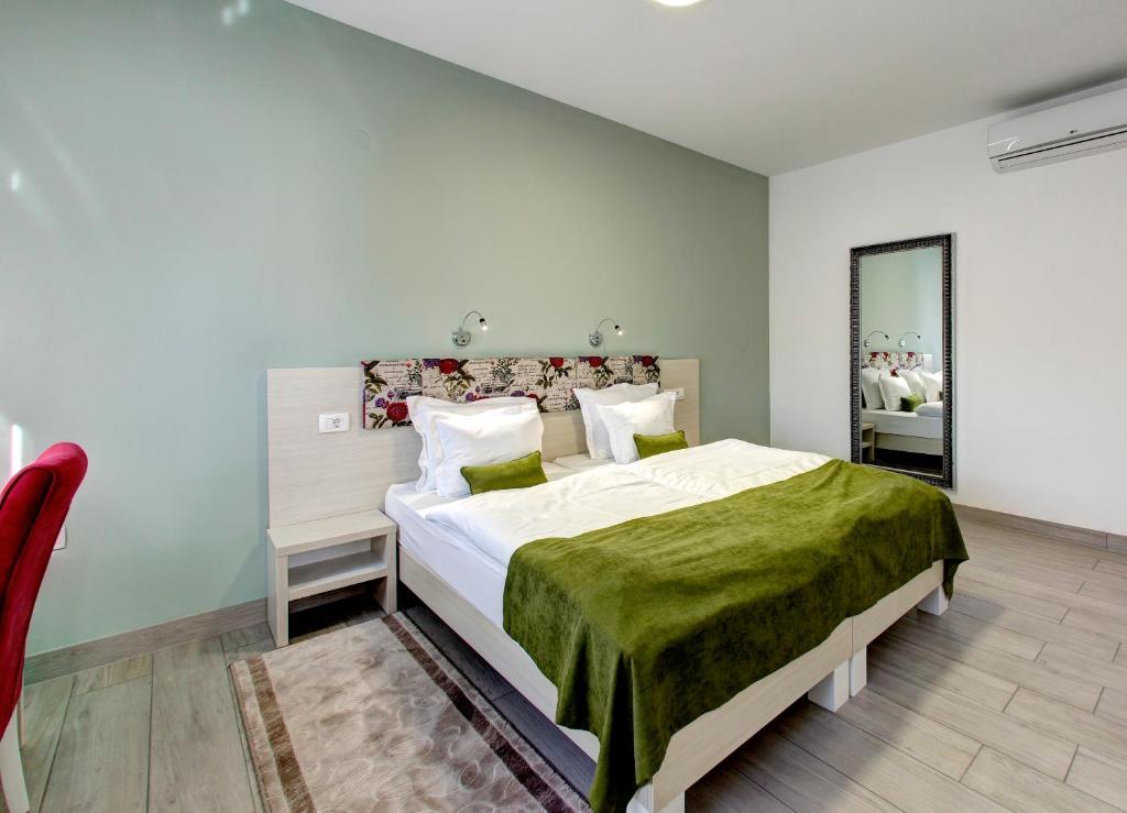 Krevet ili kreveti u jedinici u okviru objekta Villa Fortuna