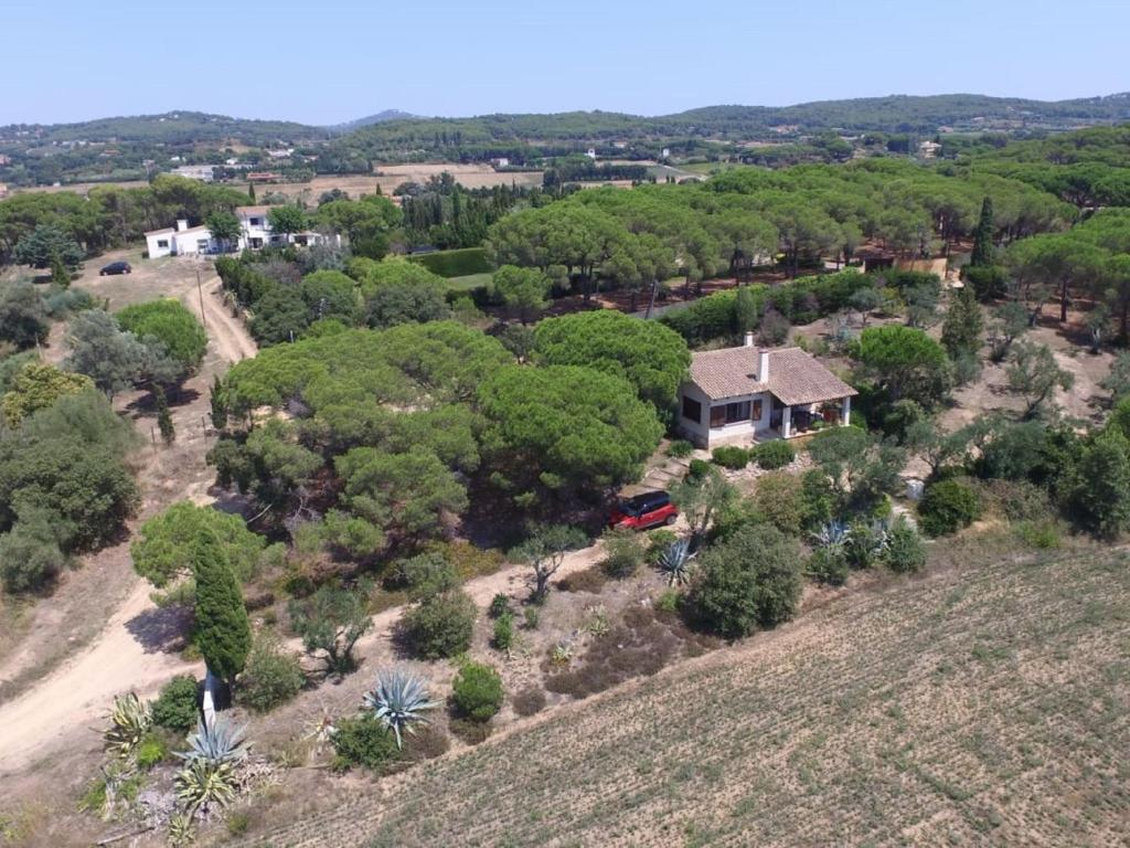 Vista aèria de Country cottage in Palafrugell near Beach