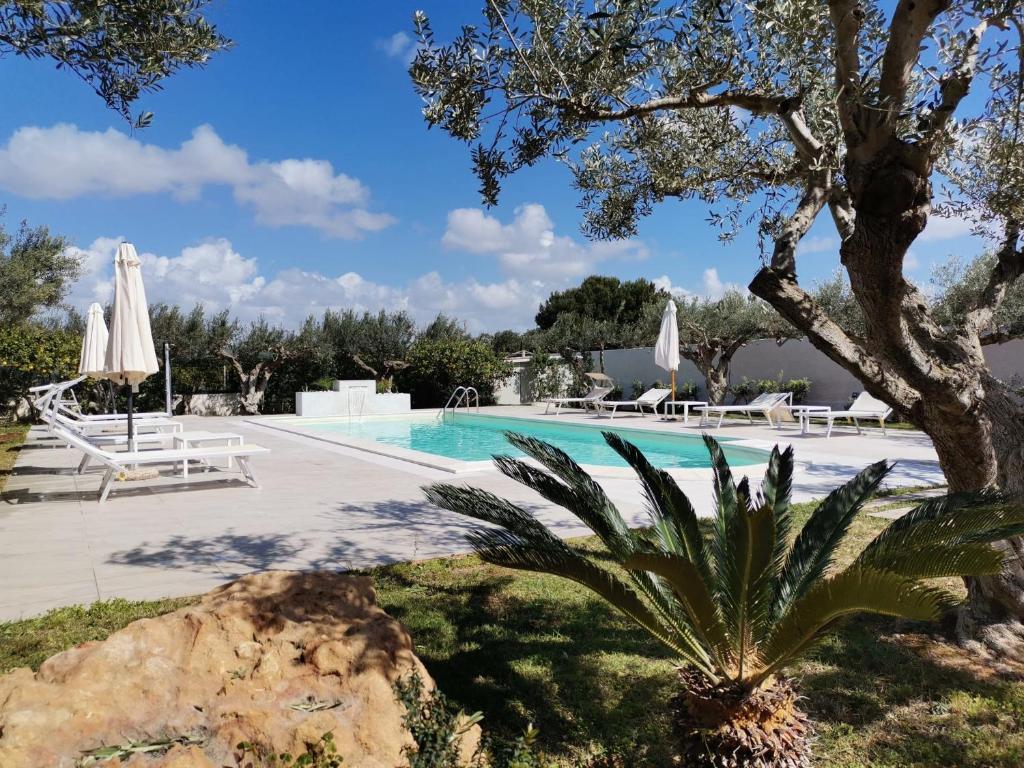 The swimming pool at or near Signorino Resort
