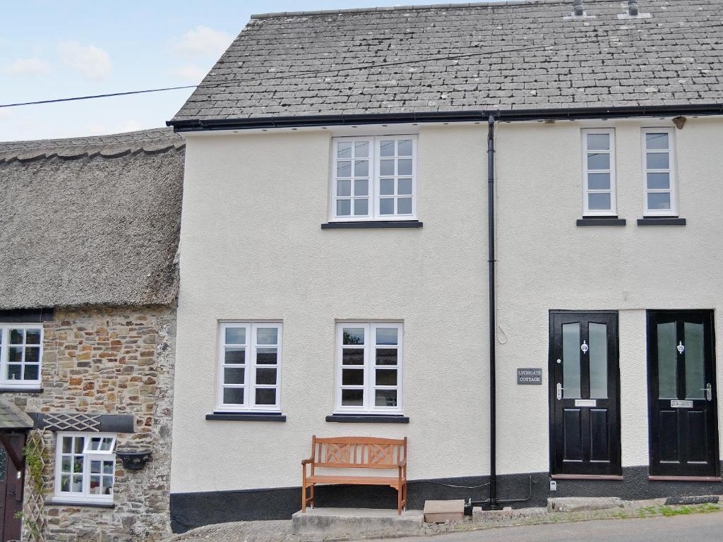 Lychgate Cottage in Chittlehampton, Devon, England