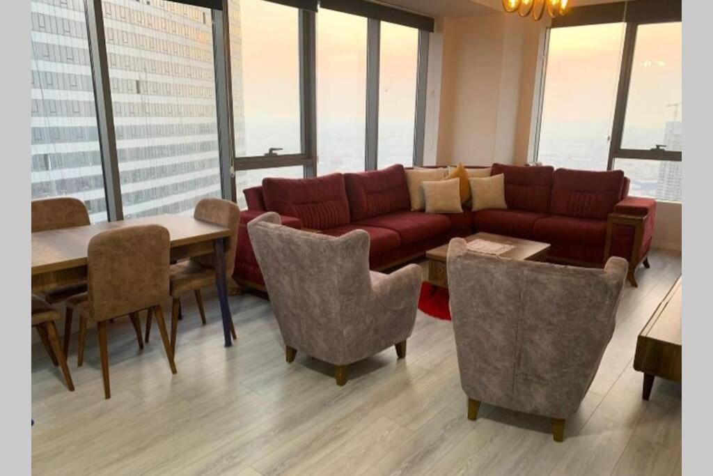 2+1 kozapark sedef amazing view,lux furnished rent