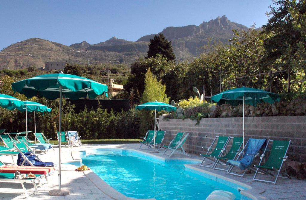 The swimming pool at or near Residence Villa Tina