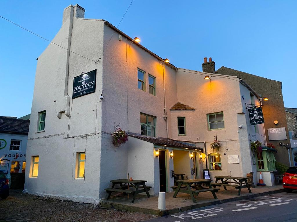 The Fountain Hotel in Hawes, North Yorkshire, England