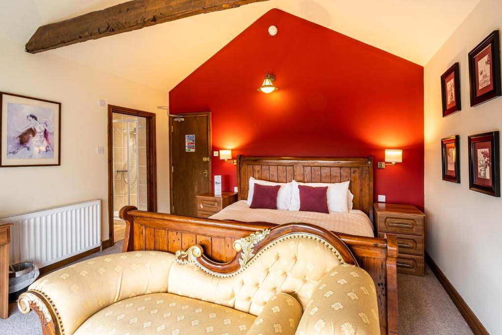 The Village Inn in Longframlington, Northumberland, England