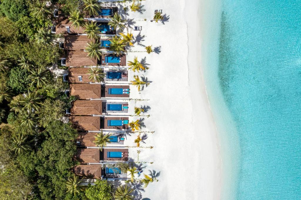 A bird's-eye view of Paradise Island Resort & Spa