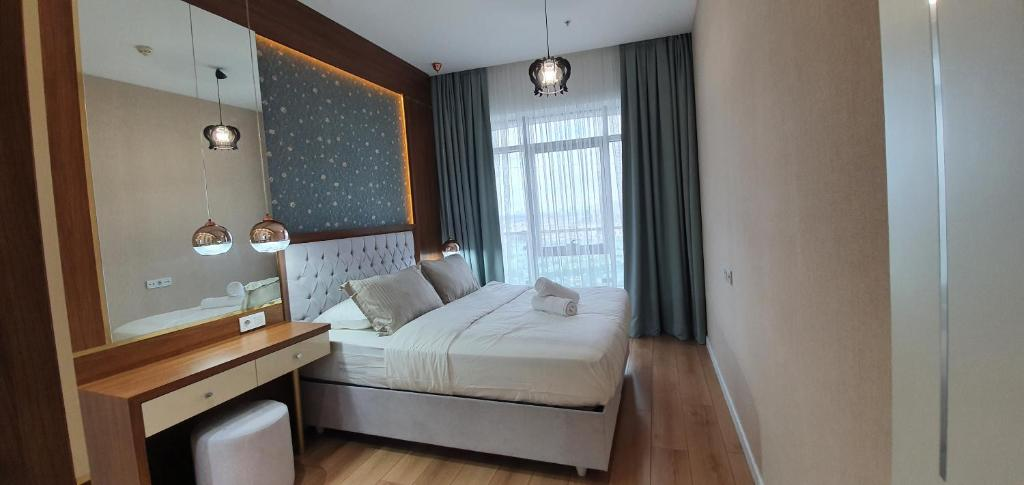 Stunning and relaxing apartment mall of Istanbul 24th floor