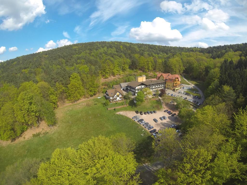 Blick auf Wald-Hotel Heppe aus der Vogelperspektive