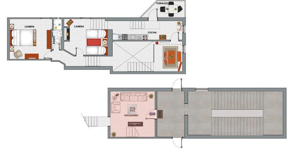 The floor plan of Acacia Firenze