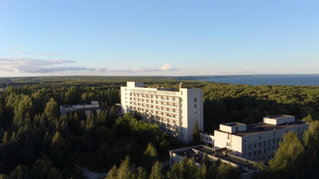A bird's-eye view of Sanatoriy Lenina