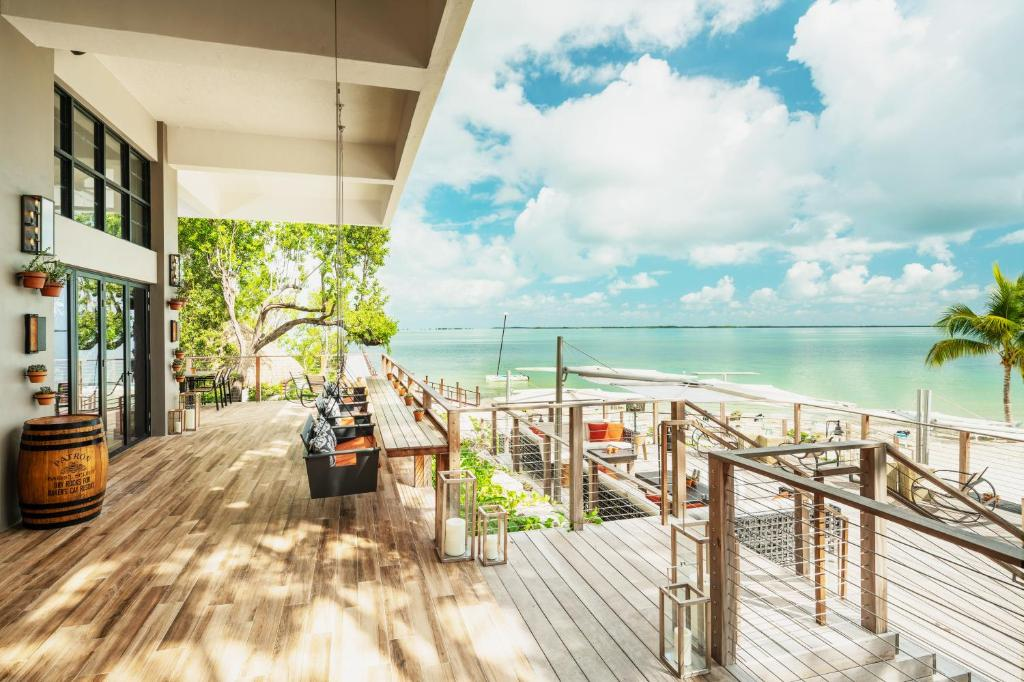 A balcony or terrace at Baker's Cay Resort Key Largo, Curio Collection By Hilton