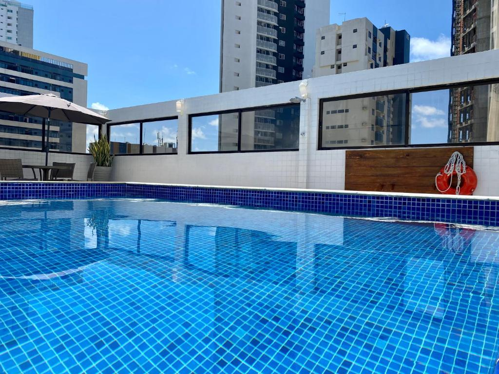 The swimming pool at or close to Kastel Manibu Recife - Boa Viagem