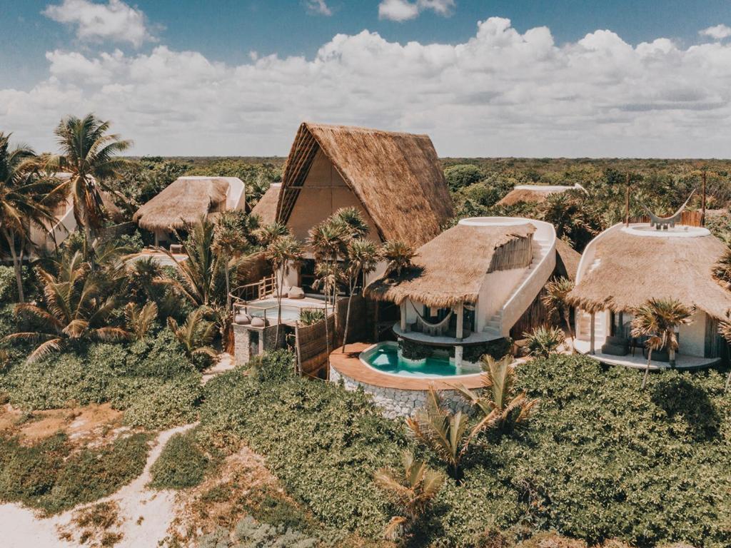 A bird's-eye view of Papaya Playa Project
