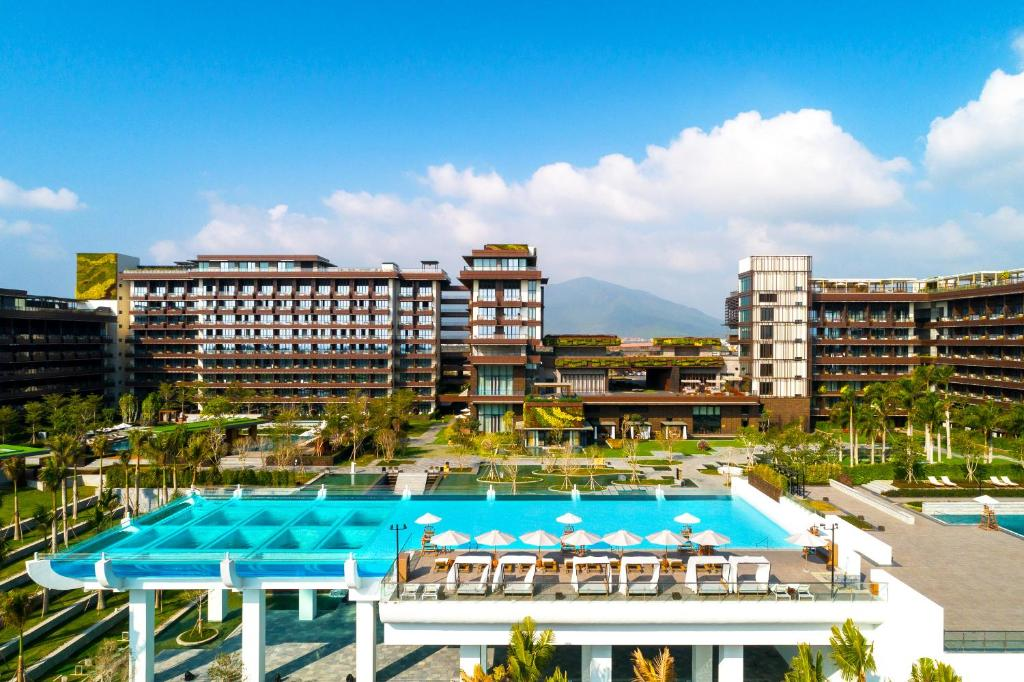 A view of the pool at 1 Hotel Haitang Bay, Sanya or nearby
