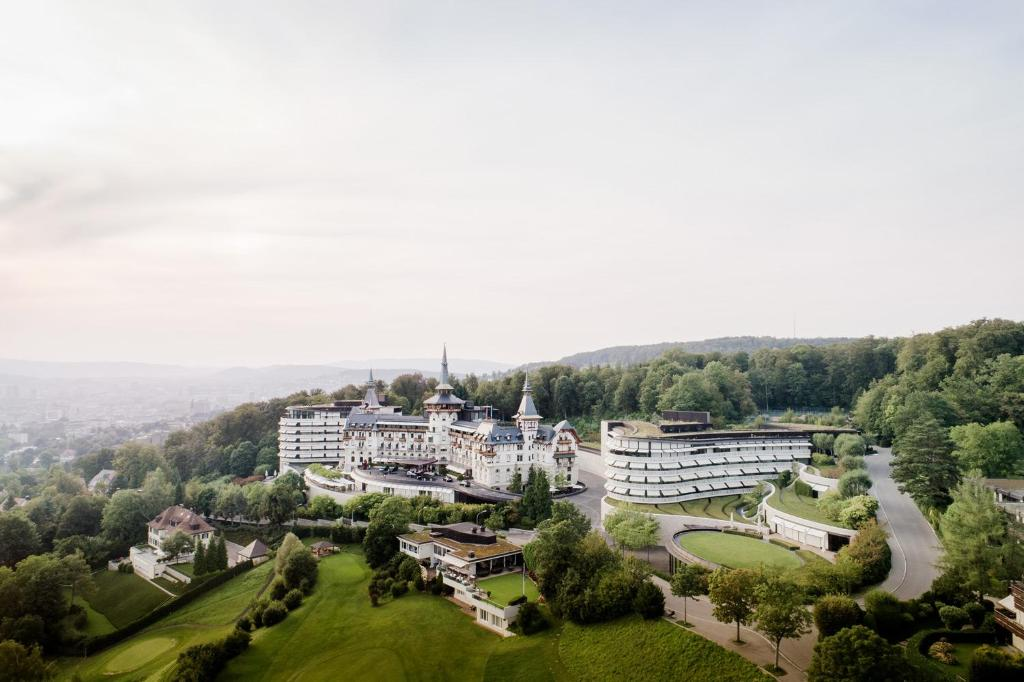 A bird's-eye view of The Dolder Grand