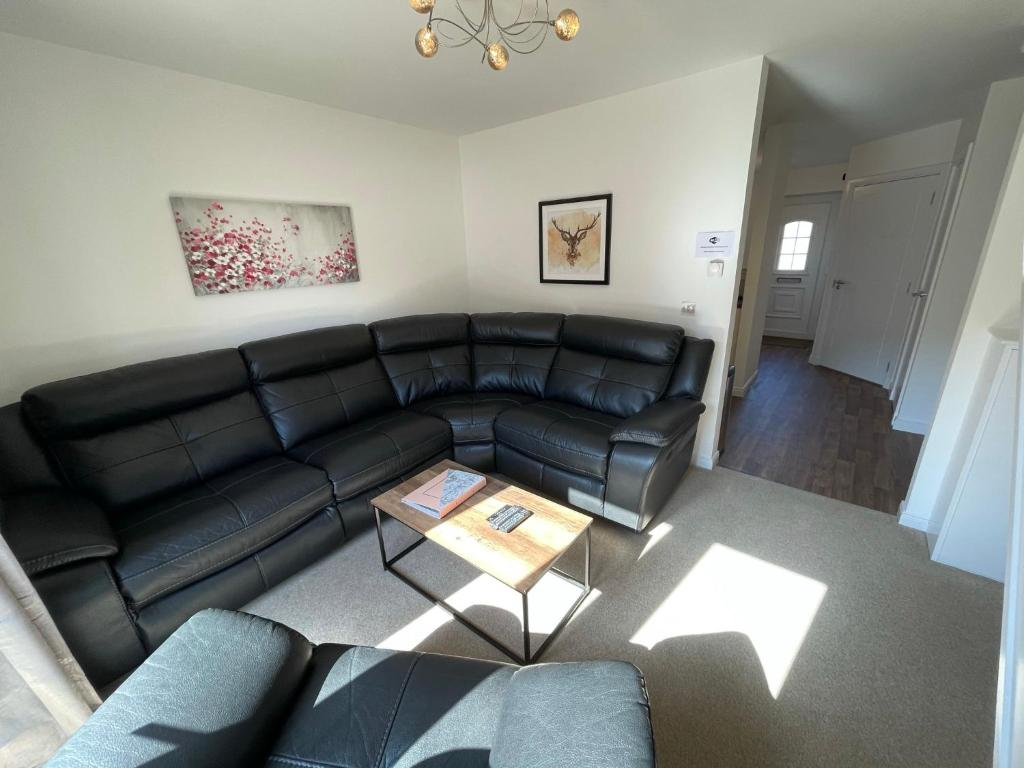 A seating area at Gorsebank View