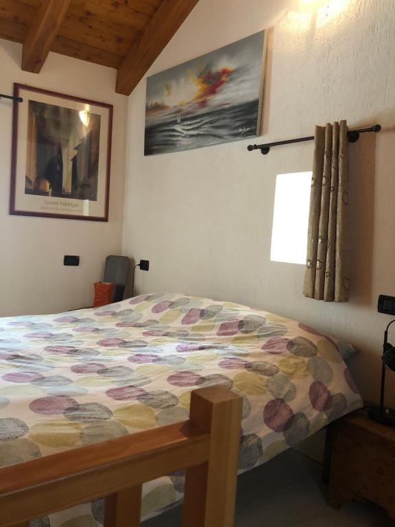 Letto o letti in una camera di Chez Sylvie