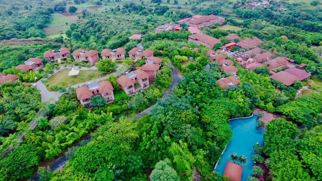 A bird's-eye view of The Ananta Udaipur Resort & Spa