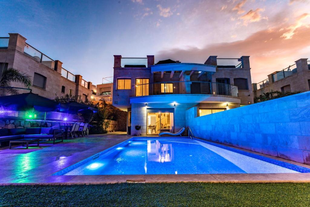 The swimming pool at or near Blue Lotus Villa