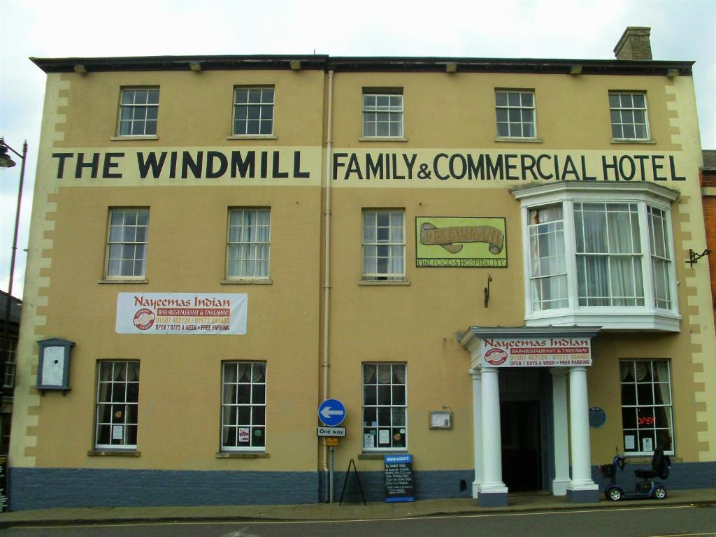 The Windmill Family & Commercial Hotel in Alford, Lincolnshire, England