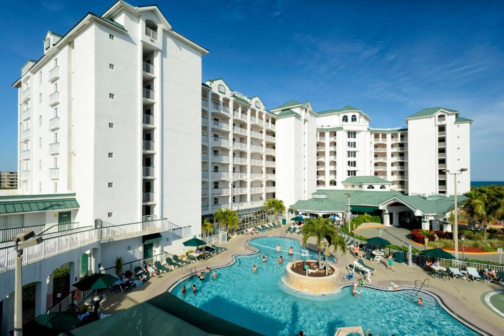 A view of the pool at The Resort on Cocoa Beach, a VRI resort or nearby