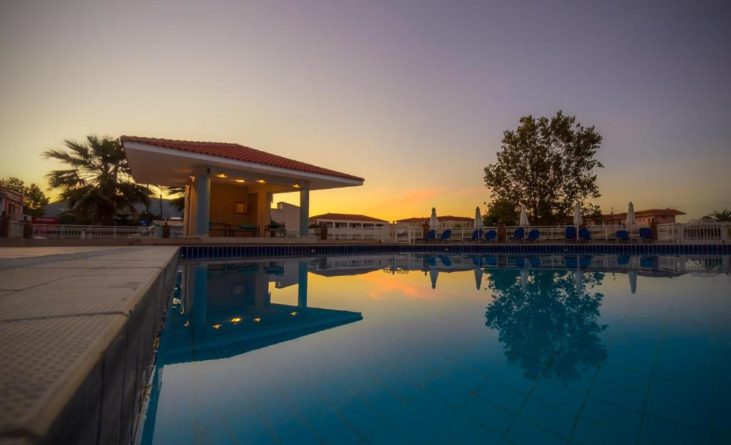 The swimming pool at or near Karras Hotel