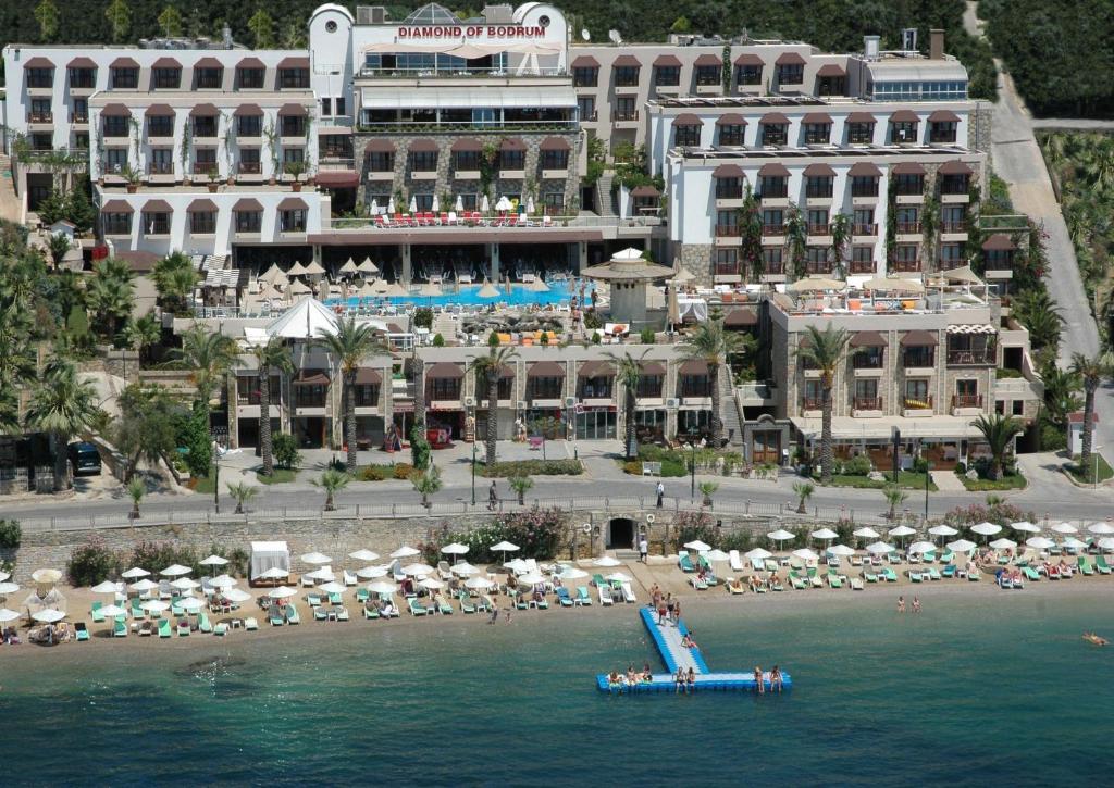 Een luchtfoto van Diamond of Bodrum Hotel