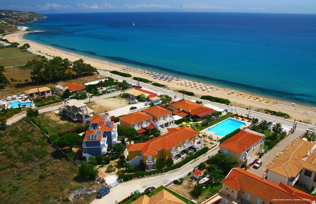 Άποψη από ψηλά του Paspalis Hotel