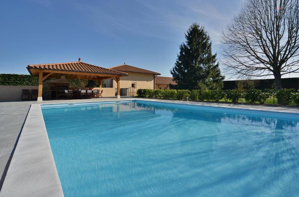 The swimming pool at or near Domaine de la Garde
